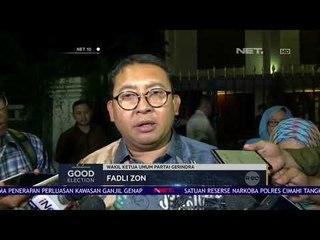 Waketum Gerindra Kantongi 3 Nama Calon Cawapres 2019-NET10