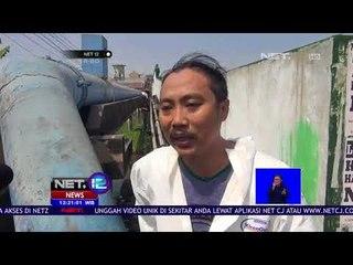 Aksi Bersih bersih Sampah Popok Bayi Disejumlah Titik Sungai Brantas-NET12