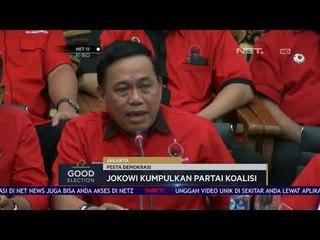 Presiden Joko Widodo Kumpulkan Semua Partai Koalisi Dirinya-NET12