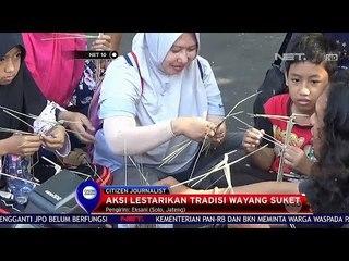 Lestarikan Tradisi dengan Membuat Wayang Suket