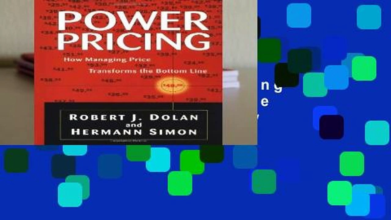 65926d94a618e New Releases Power Pricing: How Managing Price Transforms the Bottom Line  Review