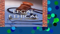Best ebook  Legal and Ethical Issues in Nursing (Legal Issues in Nursing (Guido))  For Full