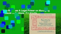 New Releases A Legal Primer on Managing Museum Collections  For Kindle