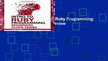 Intro To Ruby Programming: Beginners Guide Series - video