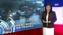 #SentroBalita: Baha sa Metro Manila, nagdulot ng mabigat na trapiko