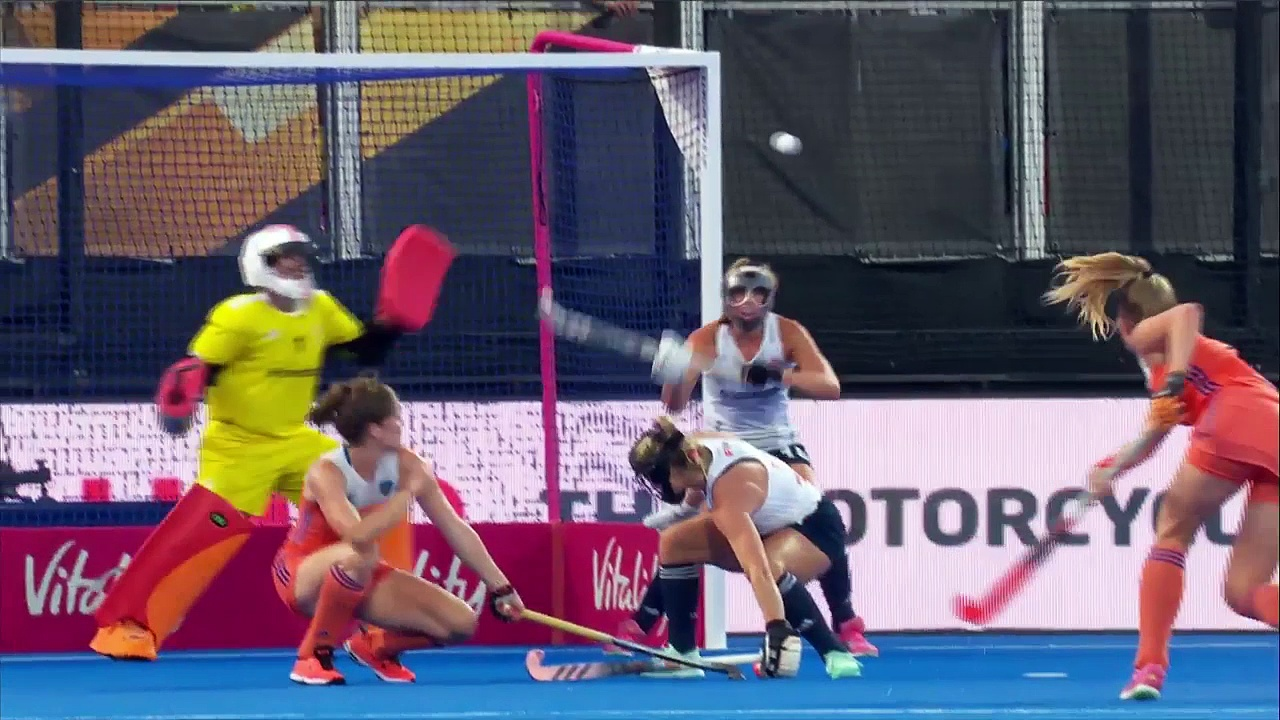 Netherlands v England   2018 Women's World Cup   Highlights