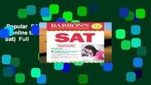 Popular  SAT, 29th Ed w/online test (Barron s Sat)  Full