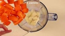 Smoothie détox pomme carotte
