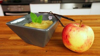 Compte de pommes légère sans sucre
