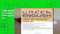 PDF] The interlinear literal translation of the Greek New