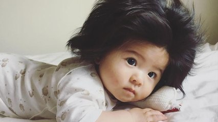 Meet Baby Chanco: the 7-Month-Old Whose Hair is Going Viral