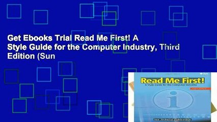 Get s   Me First A Style Guide For The Computer Industry Third Edition Sun Full Movies