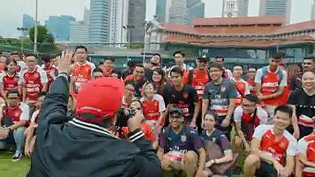 200 fans in Singapore4 Arsenal players 1 Incredible prize... here's what happened in the #RaceToTheEmiratesHenrikh Mkhitaryan Aaron Ramsey Shkodran Mustafi