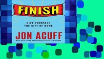 Best seller  Finish: Give Yourself the Gift of Done  E-book