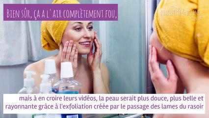Astuces de beautistas : se raser le visage le matin