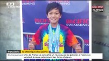 Un enfant de 10 ans bat son record, Michael Phelps le félicite sur Twitter ! (Vidéo)