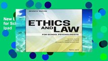 New E-Book Ethics and Law for School Psychologists For Ipad
