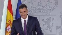 Sánchez hace balance de sus dos primeros meses, con Cataluña como principal foco