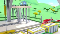 Troy The Train is The Rock Piercer in Train Town Cars & Trains construction cartoon for ch