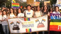 Thousands take part in Jerusalem gay pride parade