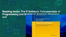 PDF Download] The R Software: Fundamentals of Programming and