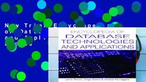 New Trial Encyclopedia of Database Technologies and Applications Full access