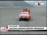 Aktivitas Erupsi Gunung Bromo Terus Meningkat