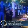 Aksi duel tiga lawan tiga di Jalan Alternatif Cifor, Bubulak, Kota Bogor pada Selasa (31/8/2018) berimbas pada tewasnya satu orang pelajar SMP.#tribunnews #tr