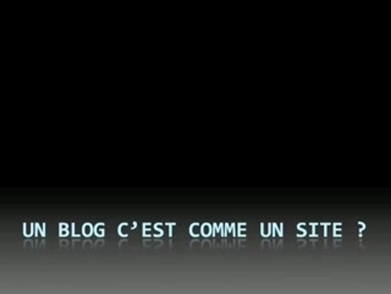 Présentation des Blogs