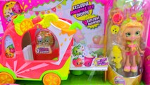 New Shoppies Pineapple Lily & Exclusive Season 5 Shopkins In Smoothie Combo Truck Car Toy