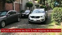 Volvo XC40 una de las SUV`s mas seguras en el mundo