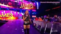 WWE RAW 26/9/17 Alexa Bliss & Mickie James Segment (Mickie James Attacks)