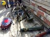 Ermənilərin döyüş meydanında atıb qaçdıqları silahlar