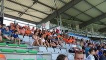 Premier match de la coupe du monde féminine, Nouvelle-Zélande contre les Pays-Bas