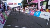 L'arrivée de l'étape du Tour d'Alsace en Haute-Saône