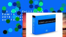 Get Full California Family Laws and Rules 2018: Desktop Edition any format