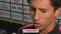 Marquinhos «Un plaisir de voir les jeunes» - Foot - T. Champions - PSG