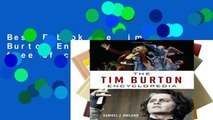Best E-book The Tim Burton Encyclopedia free of charge