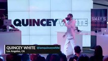 "Quincey White ""Los Scandalous Times"" @ Sway's Universe ""Doomsday Cypher"", YouTube Studios, New-York City, NY, 05-23-2018"