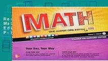 FREE DOWNLOAD Glencoe Math Course 3 Teacher Edition Vol  1 READ