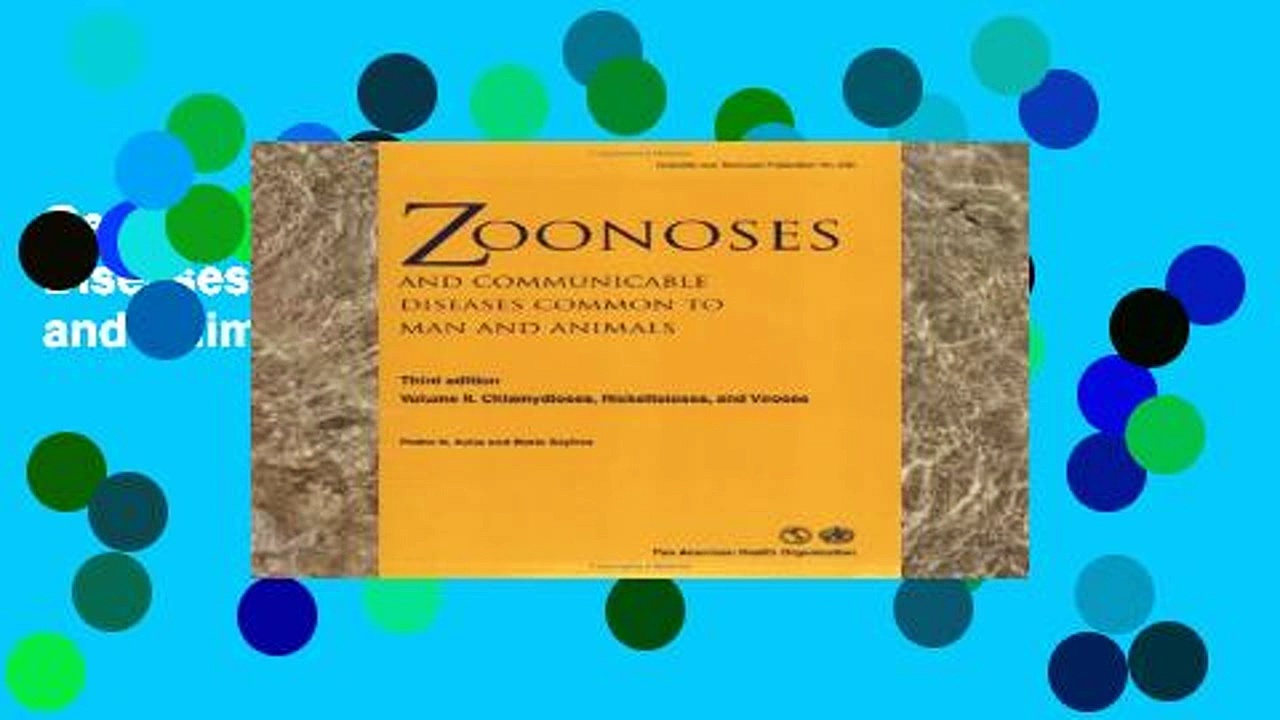Get Full Zoonoses and Communicable Diseases Common to Man and Animals: Chlamydioses,