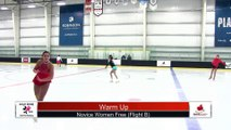 Novice Women Flight B - Free Program - 2018 Wild Rose Invitational- Robinsons Arena