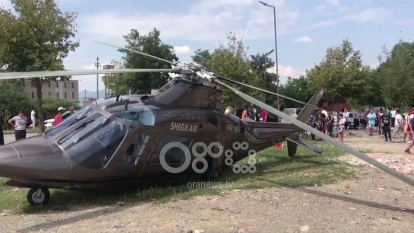 Ora News - Shkon të marrë nusen, rrëzohet helikopteri në Korçë