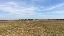 Décollage de planeurs à l'aérodrome de Falaise-Monts D'Eraines
