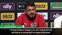 Milan boss Gennaro Gattuso insists no player turns down the chance to sign for the Rossoneri following the arrival of Gonzalo Higuain. ⚫️ #Milan #SerieA