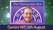 Gemini Weekly Horoscope from 6th August - 13th August