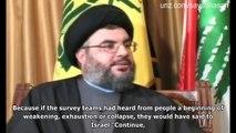"Hezbollah at War (4): Where is Hassan Nasrallah ""Hiding"" (July 21, 2006 – 2/3)"