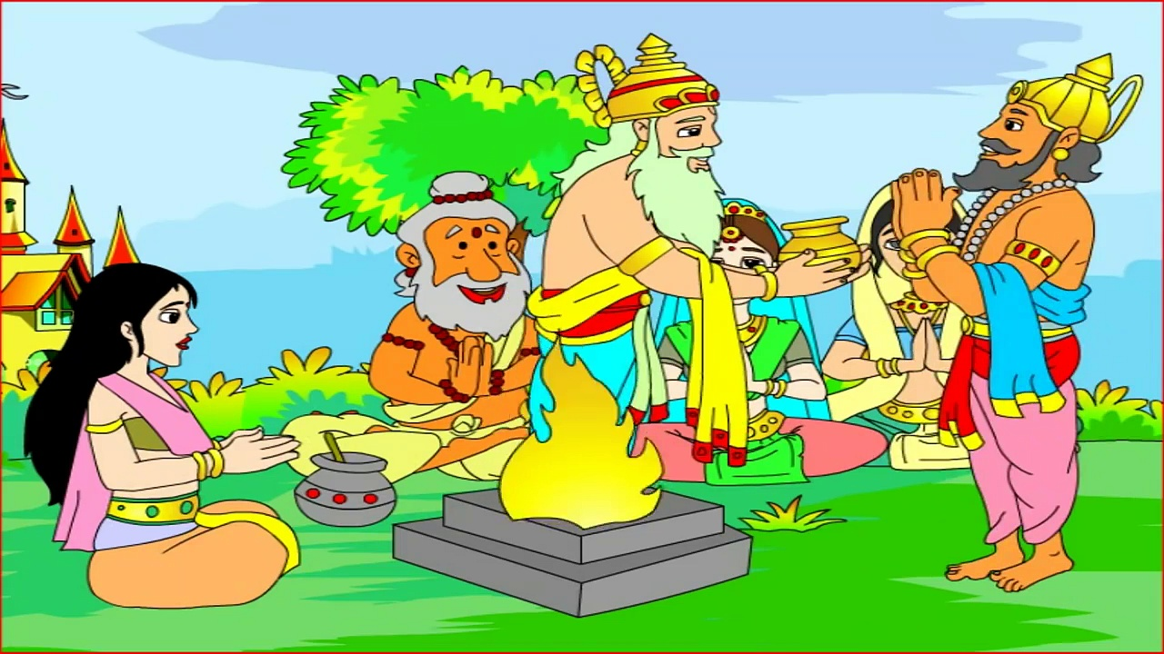 Stories Of Lord Rama From Ramayana – Animation In English -Videos For Kids