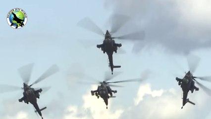Video of Russian Mi-28N gunship crashing at airshow