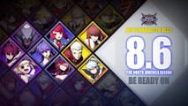 BlazBlue Cross Tag Battle - Trailer futurs personnages EVO 2018